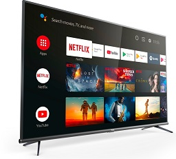 Евтин качествен 4K Телевизор LED Smart Android TCL 50EP660